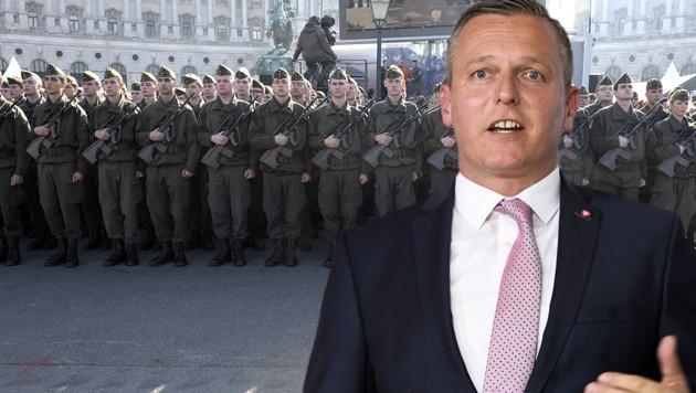 Kunasek drängt auf Milliardenspritze für das Heer