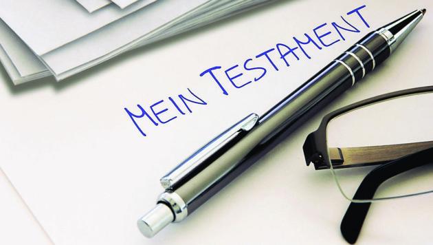 Fast die Hälfte der Oberösterreicher hat ein Testament verfasst.