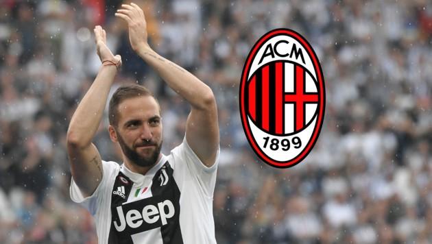 Die neue Milan-Hoffnung: Gonzalo Higuain