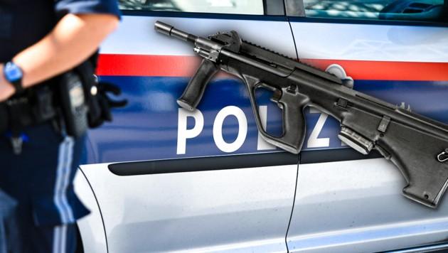 700 neue Sturmgewehre für Funkstreifen der Polizei