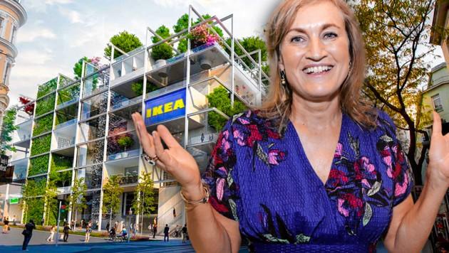 Jetzt Ist Es Fix Neuer Ikea Mitten In Wien Kroneat