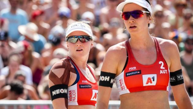 Katharina Schützenhöfer und Lena Plesiutschnig (Bild: GEPA )