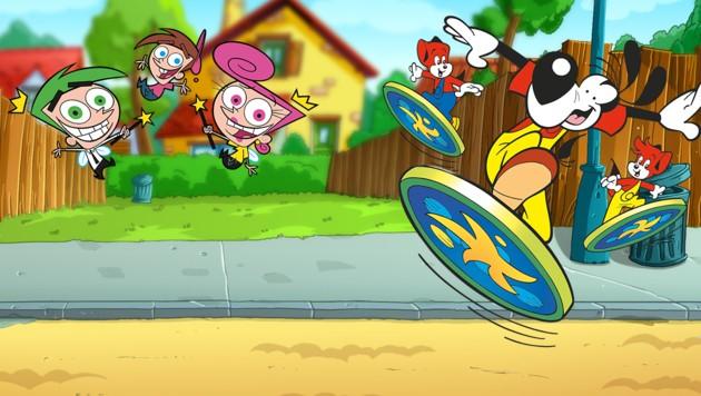 (Bild: Nickelodeon /Rolf Kaukas Fix & Fox)