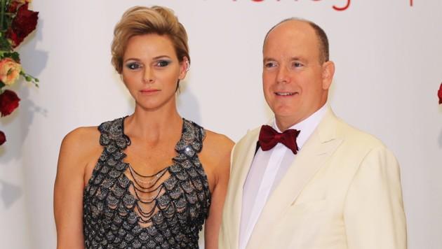 Fürst Albert und Fürstin Charlene (Bild: AFP)