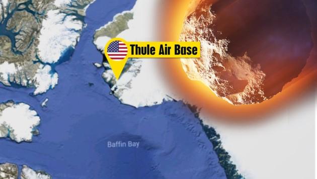 Meteor explodiert über Basis von US-Atomwarnsystem
