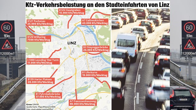 (Bild: Grafik Linz Foto Einöder, Krone Grafik)