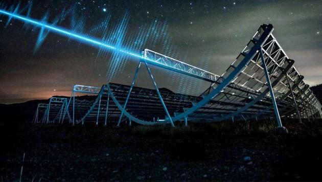 Mysteriöses außerirdisches Radiosignal empfangen