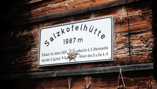 Die Wanderer befanden sich am Abstieg von der Salzkofelhütte. (Bild: Wallner Hannes/Kronenzeitung)