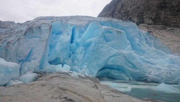 Der Nigards-Gletscher in Norwegen (Bild: APA/epa Scanpix Norge)