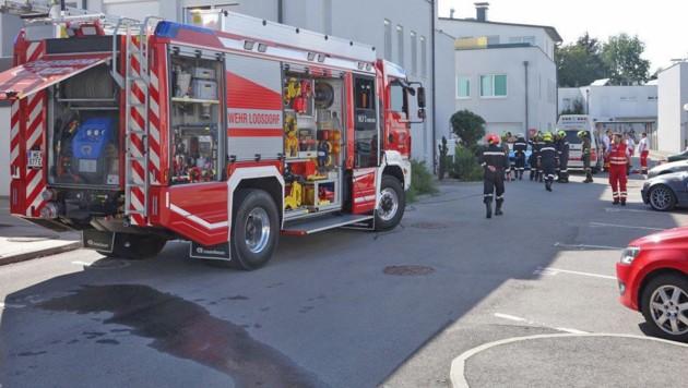 In der Küche einer Wohnung in Loosdorf (Bezirk Melk) kam es zur Explosion. (Bild: APA/EINSATZDOKU - STEYRER)