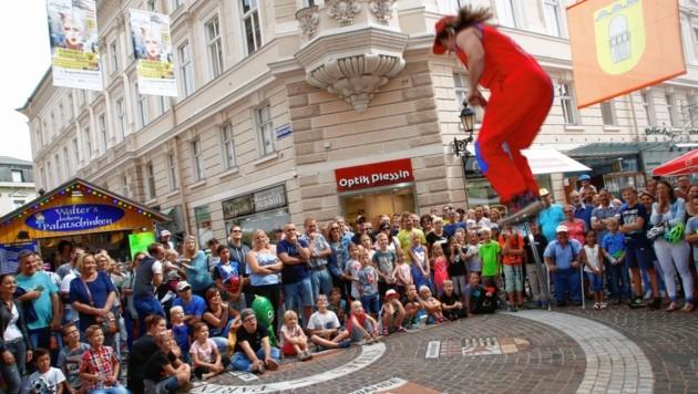 Beim Altstadtzauber in Klagenfurt gibt es auch heuer wieder ein buntes Programm! (Bild: Kronen Zeitung)