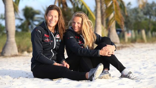 Lorena Abicht und Tanja Frank (Bild: GEPA)