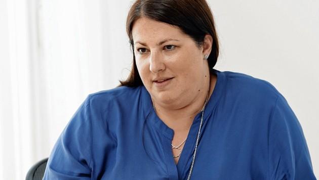 """SPÖ-Wohnbaustadträtin Kathrin Gaal wird in der """"Fortschrittskoalition"""" auch Vizebürgermeisterin. (Bild: Reinhard Holl)"""