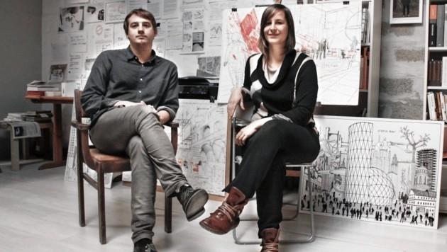 studio ASYNCHROME: Michael Schitnig und Marleen Leitner (Bild: Studio Asynchrome)