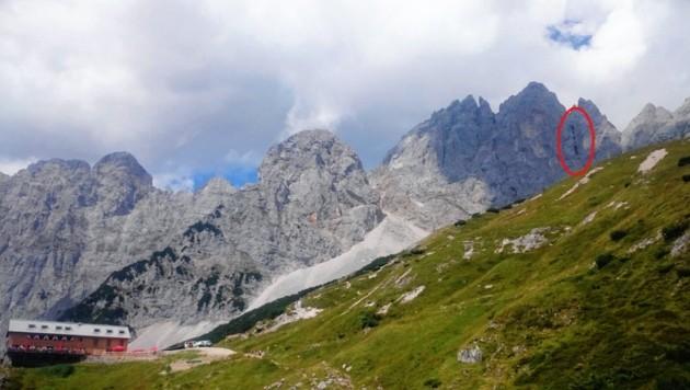 Die zwei deutschen Kletterer (29, 34) stürzten am Wilden Kaiser Hunderte Meter in die Tiefe. (Bild: Zoom.Tirol)