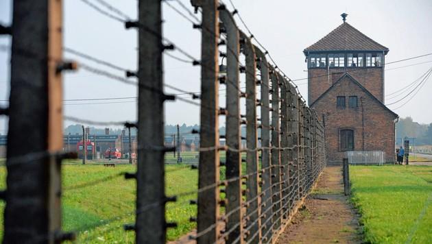 Die Gedenkstätte im ehemaligen Konzentrationslager Auschwitz-Birkenau (Bild: EPA)