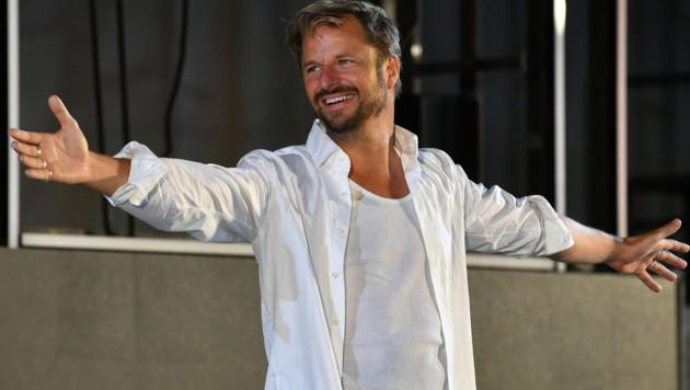 Philipp Hochmair sprang für Tobias Moretti als Jedermann ein. (Bild: APA/BARBARA GINDL)