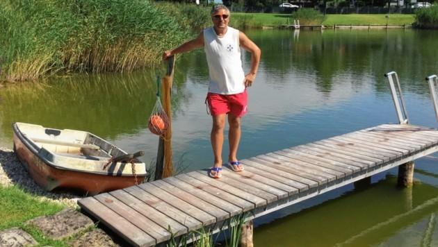 Bademeister Mario Handl wurde zum Lebensretter. (Bild: Mario Handl)