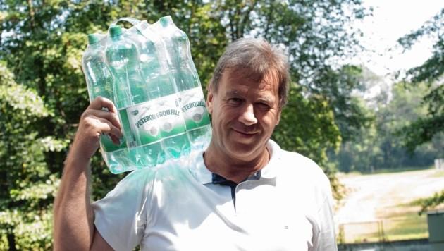 Gerald Doleschel verfolgt mit Peterquelle Expansionspläne (Bild: Elmar Gubisch)
