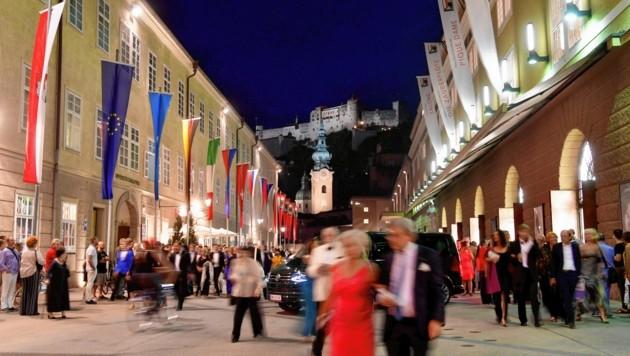Für die Jubiläumsfestspiele im Sommer 2020 hält das Festival weiter am Stichtag 30. Mai fest (Bild: BARBARA GINDL / APA / picturedesk.com)