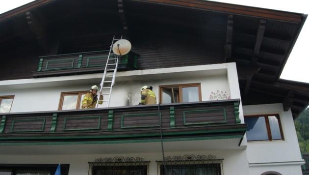 Die Freiwillige Feuerwehr Radstadt wurde zu einem Hausbrand gerufen. (Bild: FF Radstadt)