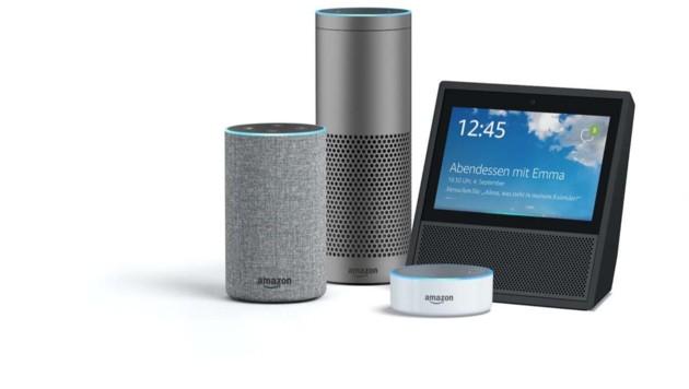 """Die neuesten """"Echo""""-Produkte von Amazon. (Bild: Amazon)"""