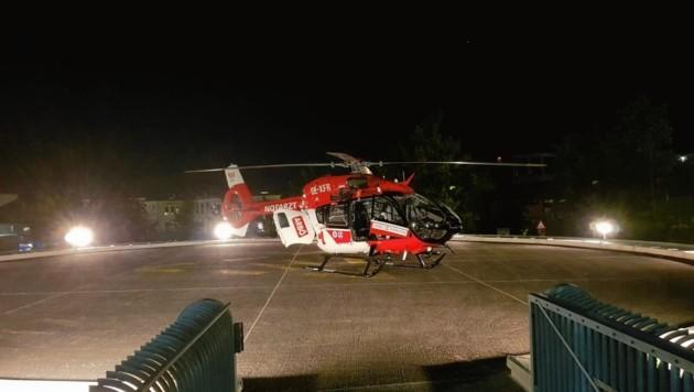 """""""RK 1"""" ist eine """"EC 145"""" von Airbus-Helikopters; mit modernsten Instrumenten an Bord und fast 300 km/h schnell. (Bild: ARBÖ/ARA)"""