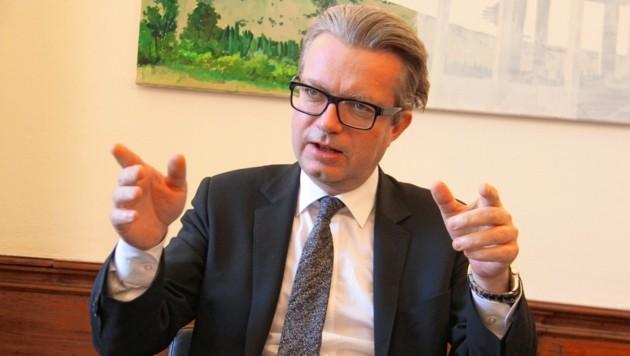 Kulturlandesrat Christopher Drexler. (Bild: Jauschowetz Christian)