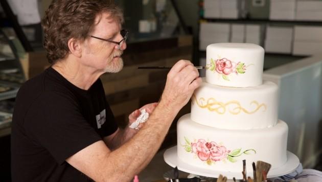Jack Phillips bei der Arbeit in seinem Geschäft in Lakewood, Colorado (Bild: AFP)