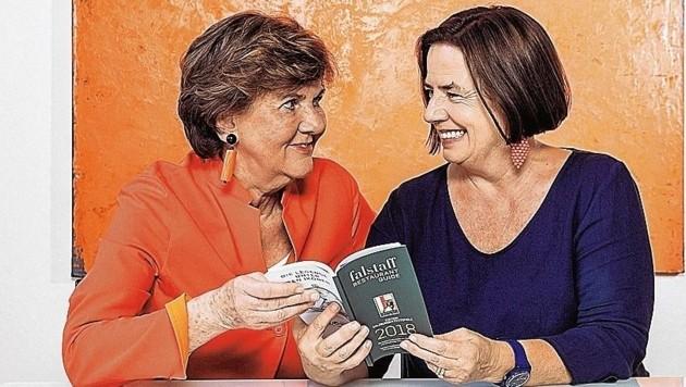 Helga Rabl-Stadler und Ilse Fischer (Bild: www.neumayr.cc)