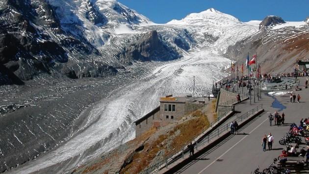Die Kaiser-Franz-Josef-Höhe mit der Pasterze (Bild: Hannes Wallner)