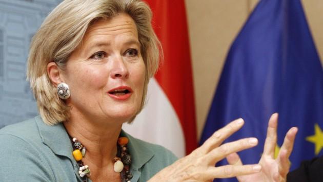 Ursula Plassnik (Bild: APA/AFP)