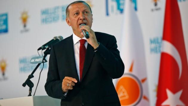 Recep Tayyip Erdogan (Bild: ASSOCIATED PRESS)