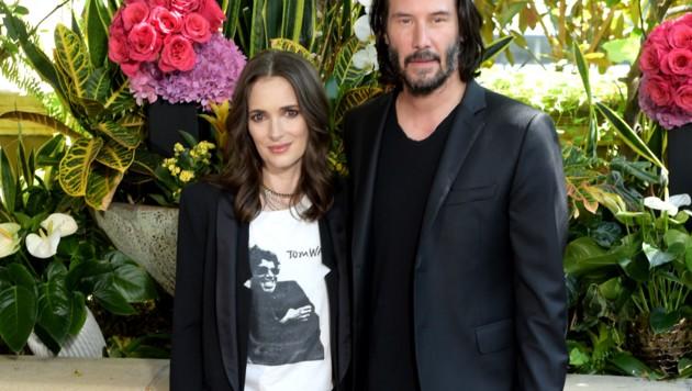 Winona Ryder und Keanu Reeves (Bild: 2018 Getty Images)