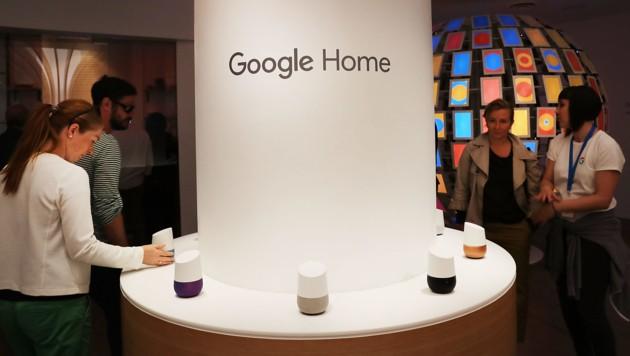 In New York hatte Google 2016 kurzzeitig bereits einen sogenannten Pop-up-Store eröffnet. (Bild: AFP)