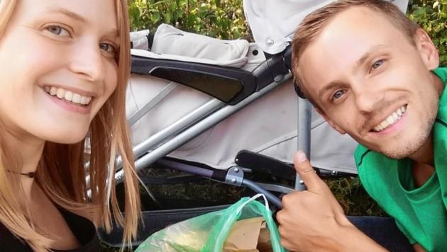 Unser Dank geht an die Familie Martin, die eifrig Müll gesammelt hat. (Bild: privat)