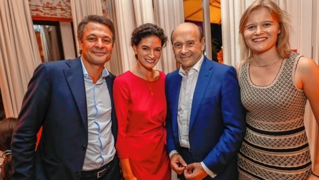 Philipp Spängler, Angelique Weinberger, Dominique Meyer und Ulli Köstinger (Bild: Markus Tschepp)