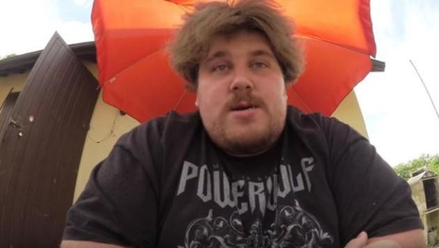 "Der YouTube-Provokateur ""DrachenLord1510"" (Bild: YoutTube.com)"