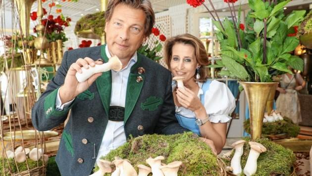 Die Gastgeber Alexandra und Matthias Winkler im Sacher (Bild: www.neumayr.cc)