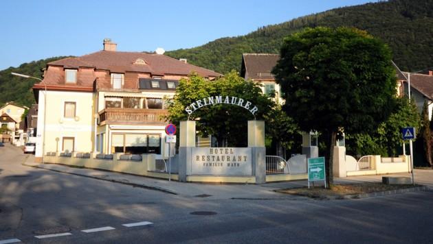 Seit über einem Jahr ist das Hotel und Gasthaus Steinmaurer geschlossen. (Bild: Klemens Fellner)