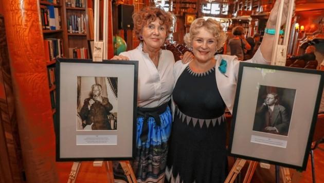 Helga Rabl-Stadler mit Clare Shine (Bild: Markus Tschepp)