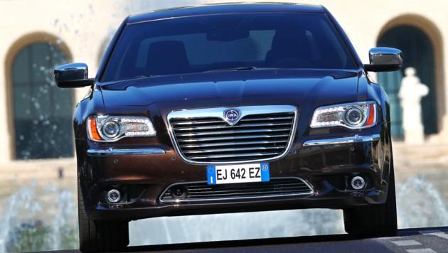 Fiat hat die Marke Lancia sterben lassen. Der Verkauf von Chrysler-Modellen unter dem Label Lancia war eine Art Sargnagel für die Traditionsmarke. (Bild: Lancia)