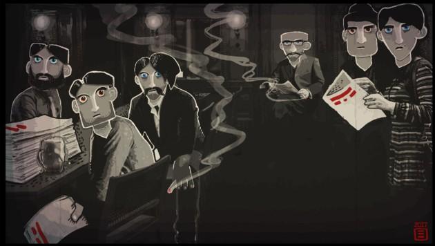 """""""Through the Darkest of Times"""" ist ein historisch inspiriertes Computerspiel, das die Schrecken des Nationalsozialismus erlebbar machen will. Die deutsche Familienministerin stört sich daran, dass dabei auch verfassungsfeindliche Symbolik - sprich: Hakenkreuze - hergezeigt werden. (Bild: throughthedarkestoftimes.com)"""