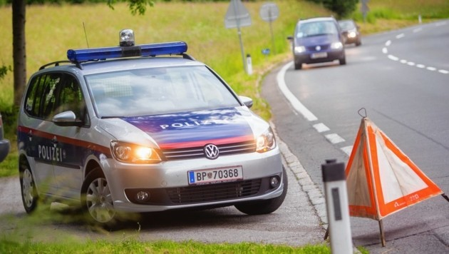 Der Unfall passierte auf der Glocknerstraße in Dölsach. (Bild: Brunner Images)