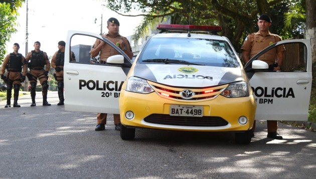Einsatz der brasilianischen Polizei (Symbolbild) (Bild: AFP)