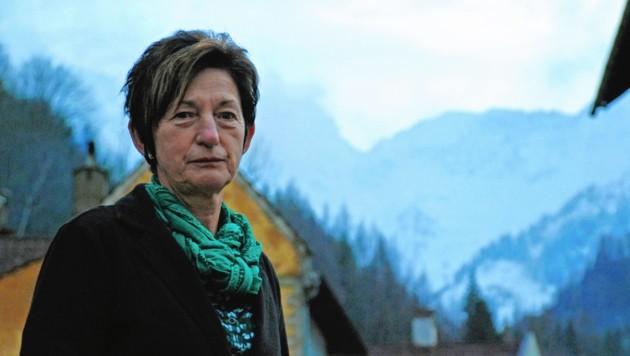 Christine Holzweber leitet seit neun Jahren die Geschicke in Eisenerz. (Bild: Matthias Wagner)