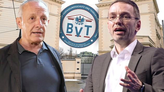 """Pilz beschimpft Kickl als """"Minister der Neonazis"""""""