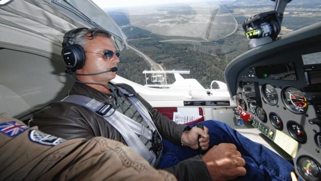 Norbert Hofer besitzt den Privatpilotenschein und seit Kurzem den Segelflugschein. (Bild: Reinhard Holl)