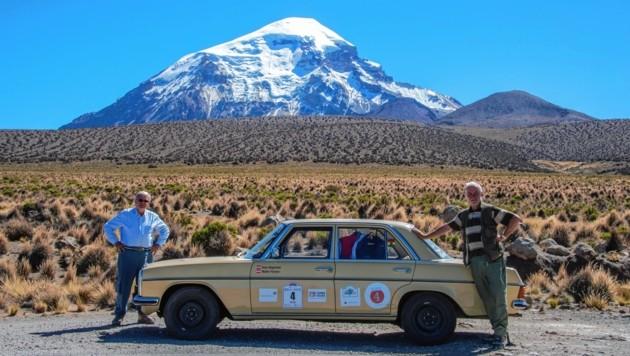 In den Anden zwischen Peru und Chile. (Bild: FISCHER WALTER)