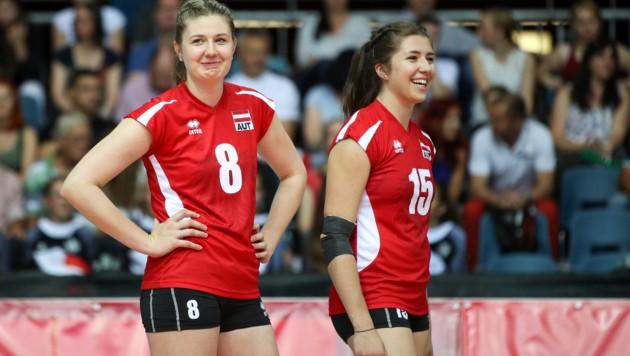 Katharina Holzer (links) Nikolina Maros (Bild: GEPA)